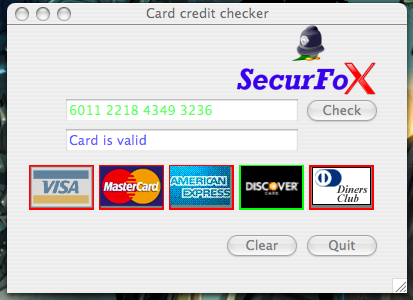card credit check